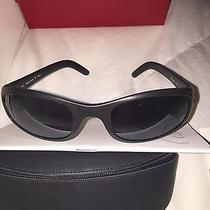 Cartier Black Rubberized Sport Sunglasses Photo