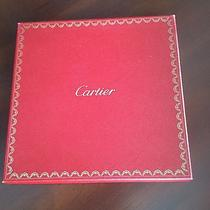 Cartier  Box. for Scarf or Similar Item Photo