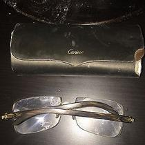 Cartier Buffalo Glasses Photo
