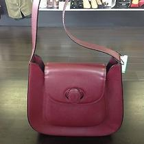 Cartier Burgundy Shoulder Bag Photo