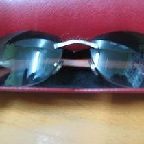 Cartier C Decor Cabrera Wood Unisex Sunglasses Photo