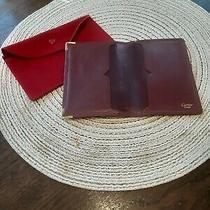Cartier Card Case Bordeaux  Leather Photo