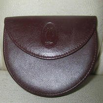 Cartier Coin Pure - Wallet Burgundy Leather  Photo