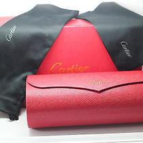 Cartier Designer Box and Hard Case Photo