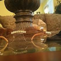 Cartier Diamond Wood Frame Eyeglasses  Photo