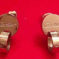 Cartier Earring (Love) Little Used Without Box or Tags Photo