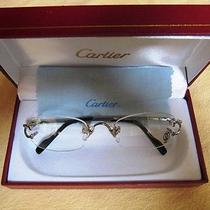 Cartier Eye Glasses in Box Photo