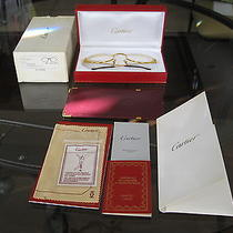 Cartier Eyeglasses  T8100146 53-22opt Gold Plated Photo
