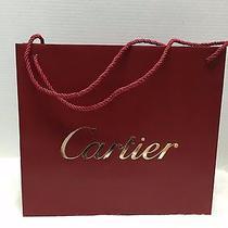 Cartier Gift/shopping/paper Bag Medium Large Photo