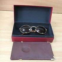 Cartier Giverny Palisander Wood Sunglasses Photo