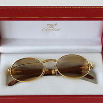 Cartier Giverny Palisander Wood Vintage Sunglasses Case Photo