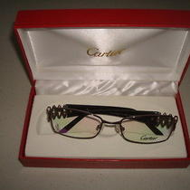 Cartier Glasses Dark Brown/light Brown Frames Photo