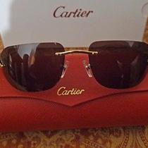 Cartier Glasses Excellent Condiiton Photo