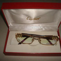 Cartier Glasses Gold Frames Photo