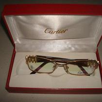 Cartier Glasses Gold Frames Photo
