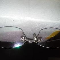 Cartier Glasses With Gray Frame Photo