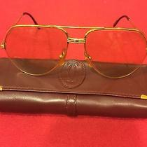 Cartier Gold Aviator Sunglasses Photo