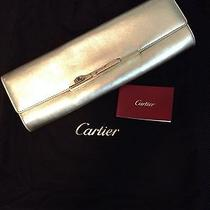 Cartier Gold Panthere Art Deco Evening Clutch Photo