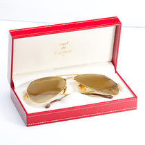 Cartier   Gold Plated Sunglasses Photo