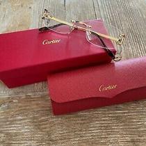 Cartier Gold Reading Glasses Unisex Photo