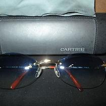 Cartier Gold Tone Sunglasses  Photo
