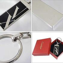 Cartier Key Ring Roman Numerals Limited Ed Bnib Authentic Photo