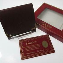 Cartier Leather Bordeaux Coin Case Yc-11 (Mak944 Photo