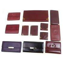 Cartier Leather Enamel Wallet Card Case Key Case Clutch 12 Pieces Set 514499 Photo