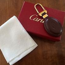 Cartier Leather Key Chain New W/ Box Photo