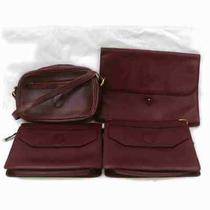 Cartier Leather Shoulder Bag Clutch 4 Pieces Set 507475 Photo
