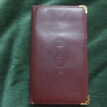 Cartier Leather Wallet Flat Photo