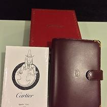 Cartier Mast Bordeux Leather Small Ring Adhent Photo