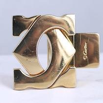 Cartier Men's 18k Gold Plated Belt Buckle Photo