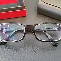 Cartier Men's Eye Glasses (Black) Photo