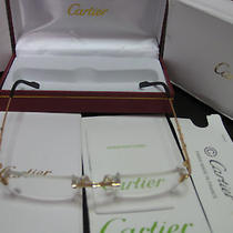 Cartier Metal Eyeglasses Photo