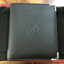 Cartier Must De Cartier Leather Wallet Made in France Photo