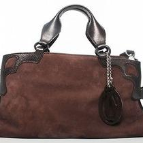 Cartier Nubuck Brown Purse  Photo