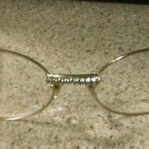 Cartier Original Horn Glasses With Diamonds Photo