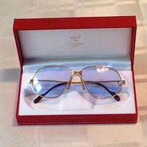 Cartier Panthere 24ct Gold Filled Luxury Vintage Jewellery Sunglasses Photo