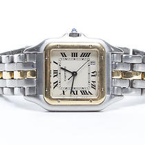 Cartier Panthere Stainless Steel and 18k Gold Watch Photo