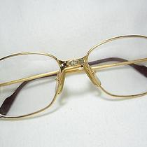 Cartier Paris 135 Gold Plated Eyeglasses  Photo