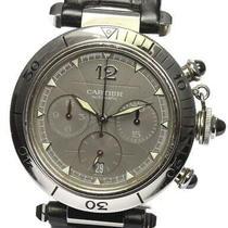Cartier Pasha Seatimer Chronograph Date W3107355 Automatic Men's Watch Photo