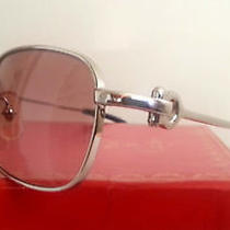 Cartier Platinum Eyeglasses Sunglasses Glasses  Photo