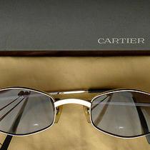 Cartier Platinum Octagon Sunglasses - Price Reduced Photo