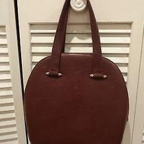 Cartier Red Bordeaux Purse Photo