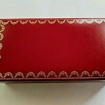 Cartier Red Leather Glasses/sunglasses Hard Box Case Co710 Photo