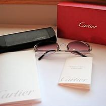 Cartier Rimless Sunglasses Eyeglasses  100% Original & Authentic Luxury Eyewear Photo