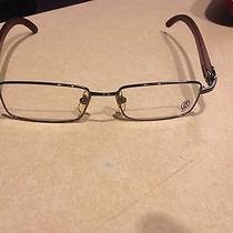 Cartier Rimmed Wood Glasses Photo