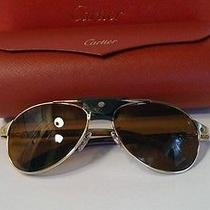Cartier Santos Collection Wood Aviator Photo