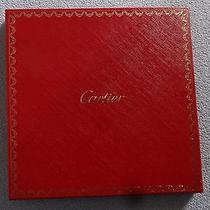 Cartier Scarf  Red Empty Box  Photo